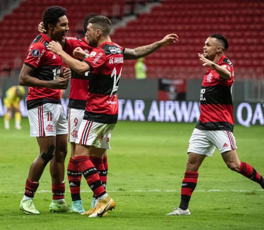 Festa do futebol em Brasília