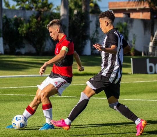 Sub-20 empata com o Ceará fora de casa e segue no G8 do Campeonato Brasileiro