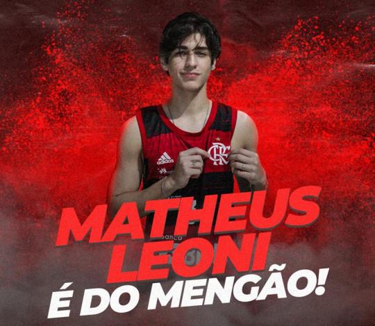 Matheus Leoni é o novo reforço do FlaBasquete