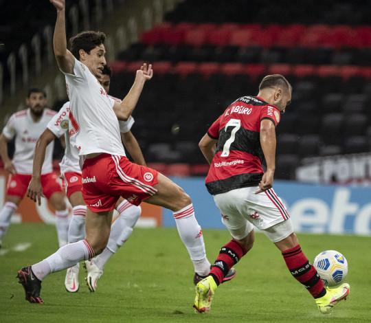 Flamengo perde para o Internacional por 4 a 0, no Maracanã