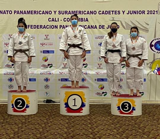 Eliza Ramos é campeã Pan-Americana de Judô