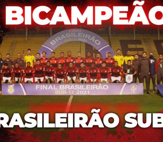FLAMENGO É BICAMPEÃO DO BRASILEIRO SUB-17