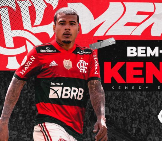 Kenedy é o novo reforço do Flamengo