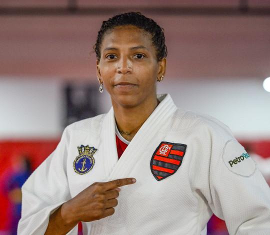 Rafaela Silva é do Mengão