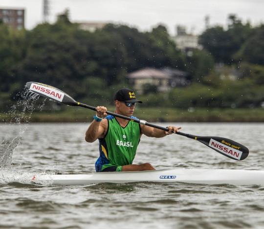 Caio Ribeiro está na final paralímpica!