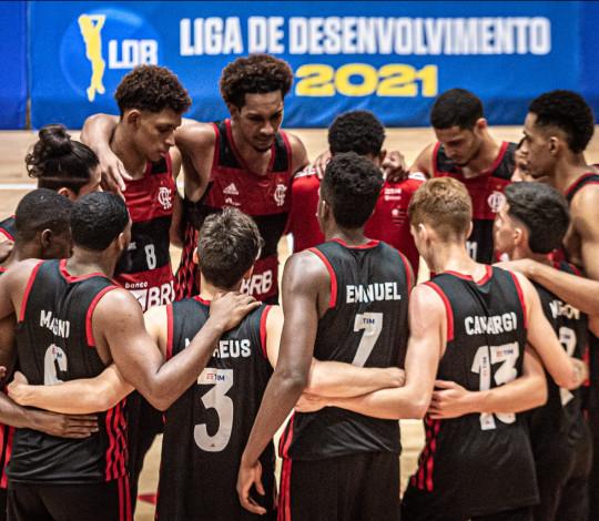 Flamengo encerra segunda etapa da LDB com vitória sobre o Basquete Cearense