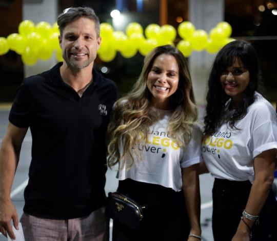 Flamengo promove ação de conscientização do Setembro Amarelo no CIEP Nação Rubro-Negra