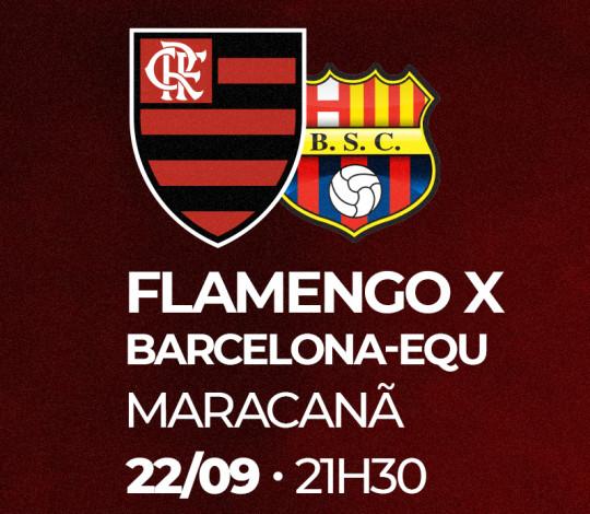 Veja a lista de laboratórios credenciados para o duelo entre Flamengo e Barcelona-EQU