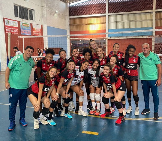 Flamengo vence em rodada da Superliga Carioca de Vôlei