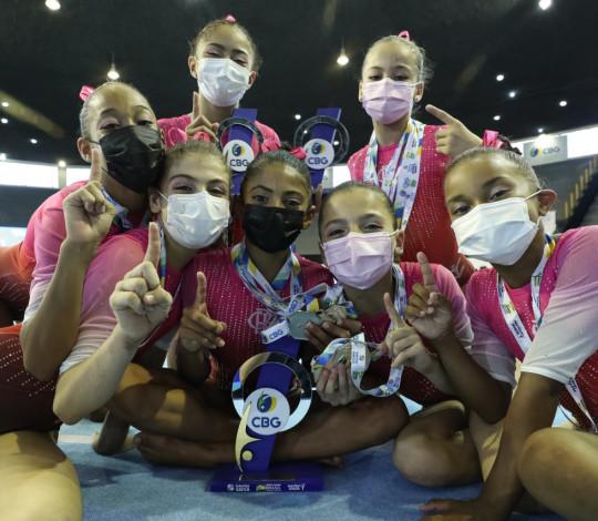Flamengo é campeão Brasileiro Infantil de Ginástica Artística Feminina