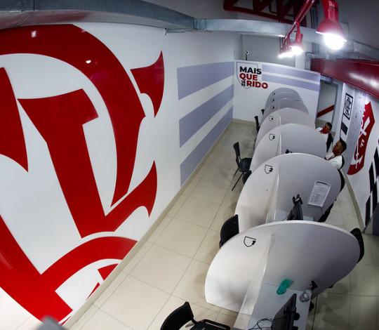 Flamengo inaugura novo espaço da Secretaria