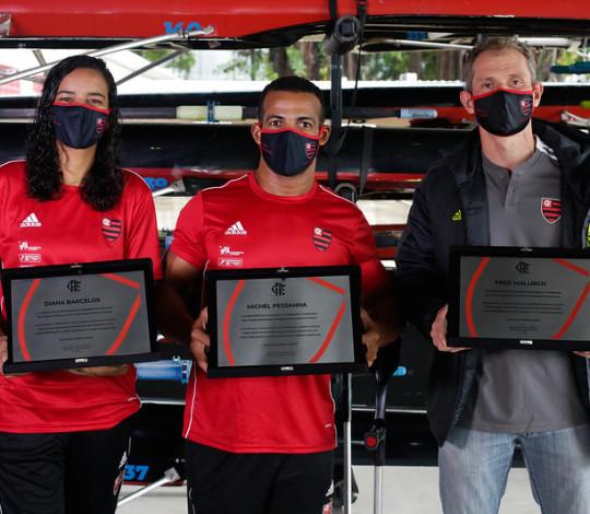 Flamengo homenageia atletas e técnico rubro-negros que competiram na Paralimpíada de Tóquio