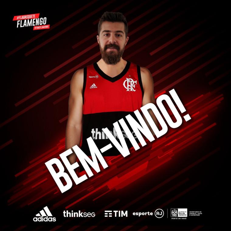 b77f00de626b5 Franco Balbi é o novo armador do FlaBasquete - Flamengo