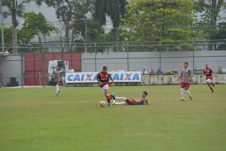 Sub-16 perde para o Fluminense pelo Torneio Guilherme Embry - Flamengo 535e14989e6e1