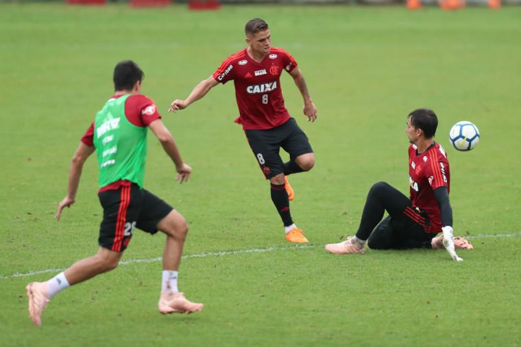 Flamengo inicia preparação para o clássico contra o Fluminense