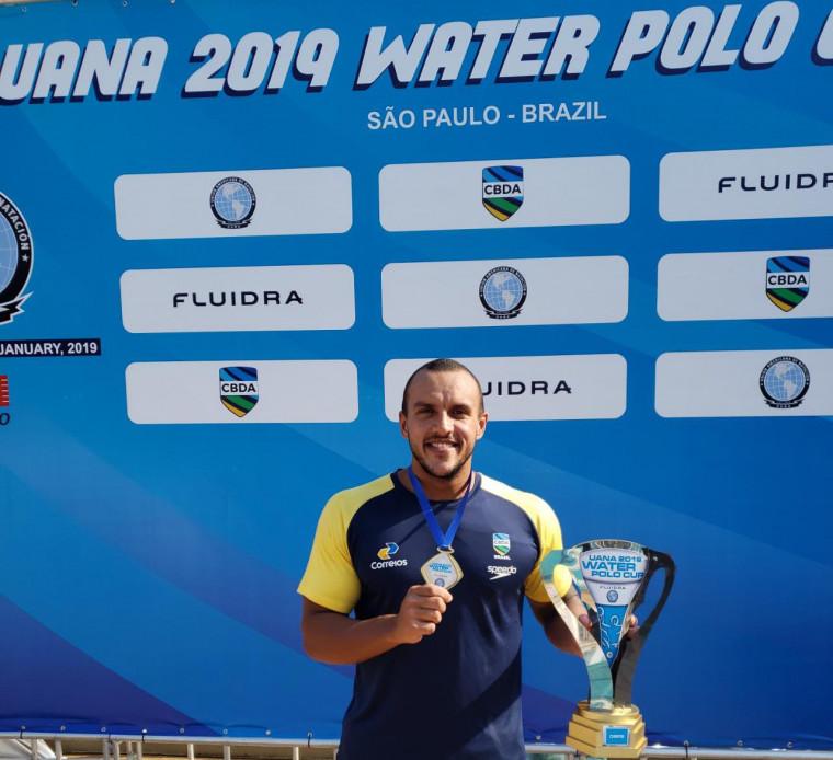 Heitor Carrulo conquista o bicampeonato da Copa UANA pela Seleção Brasileira