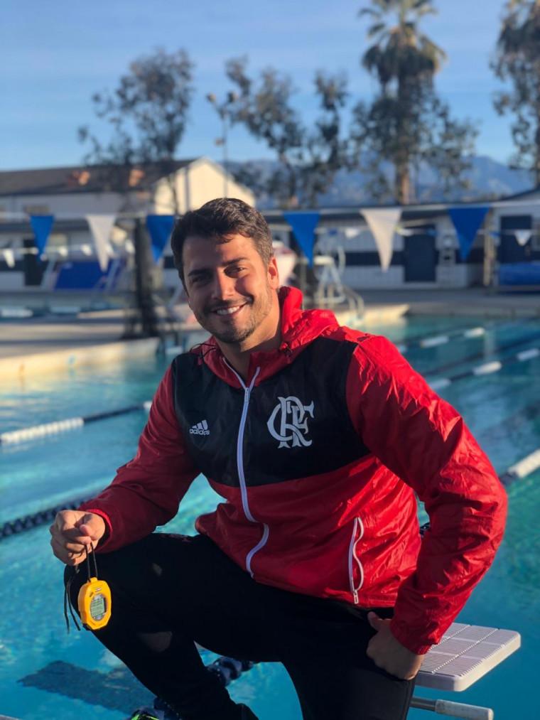 Em competição na Califórnia, Diego Uchôa comandou os meninos das equipes Petiz e Infantil.