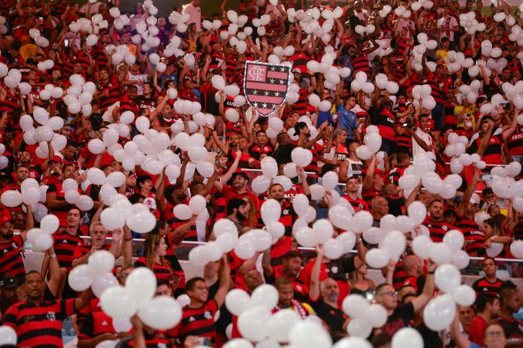 Com Média De 42173 Torcedores Presentes Por Jogo Flamengo