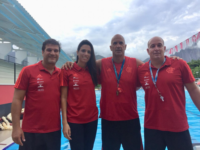 George Chaia, Illana Pinheiro, Antônio Canetti e Rafael Hall representarão o Flamengo no evento.