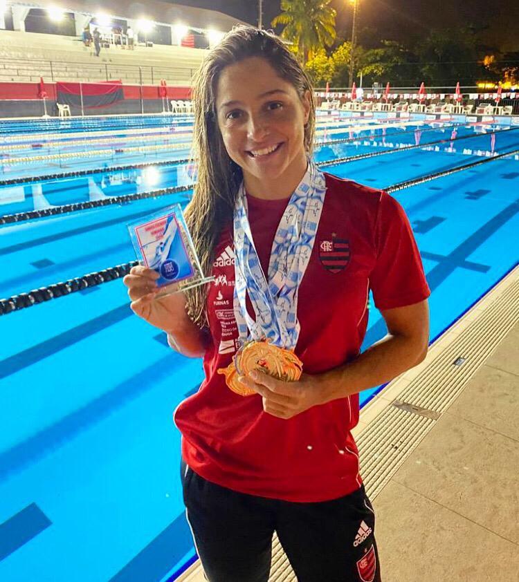 Daiene Dias é uma das atletas rubro-negras da equipe Sênior com maior destaque na competição.