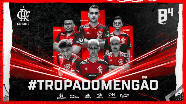 Flamengo Esports anuncia parceria com B4 e entra no Free Fire - Flamengo