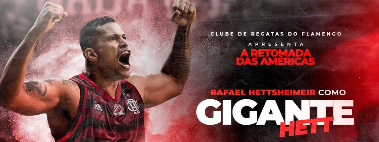 """Hettsheimeir enaltece o Flamengo: """"Quero honrar o Manto Sagrado"""""""