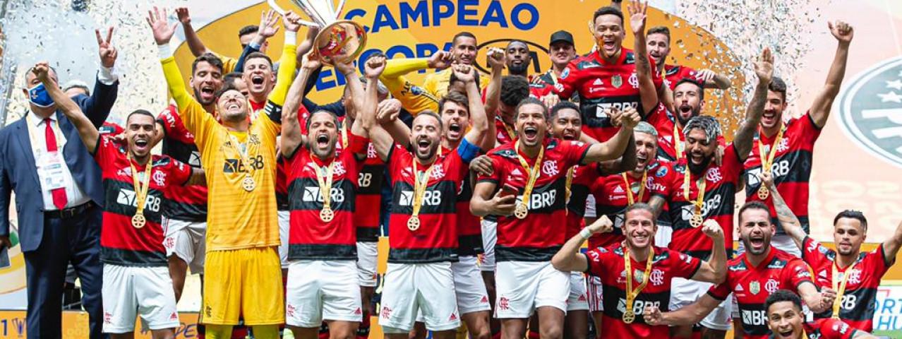 MENGÃO É BICAMPEÃO DA SUPERCOPA DO BRASIL