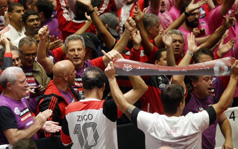 Rodolfo Landim é o 57º presidente do Clube de Regatas do Flamengo