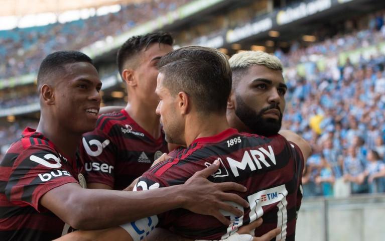 Mengão vence o Grêmio por 1 a 0, fora de casa