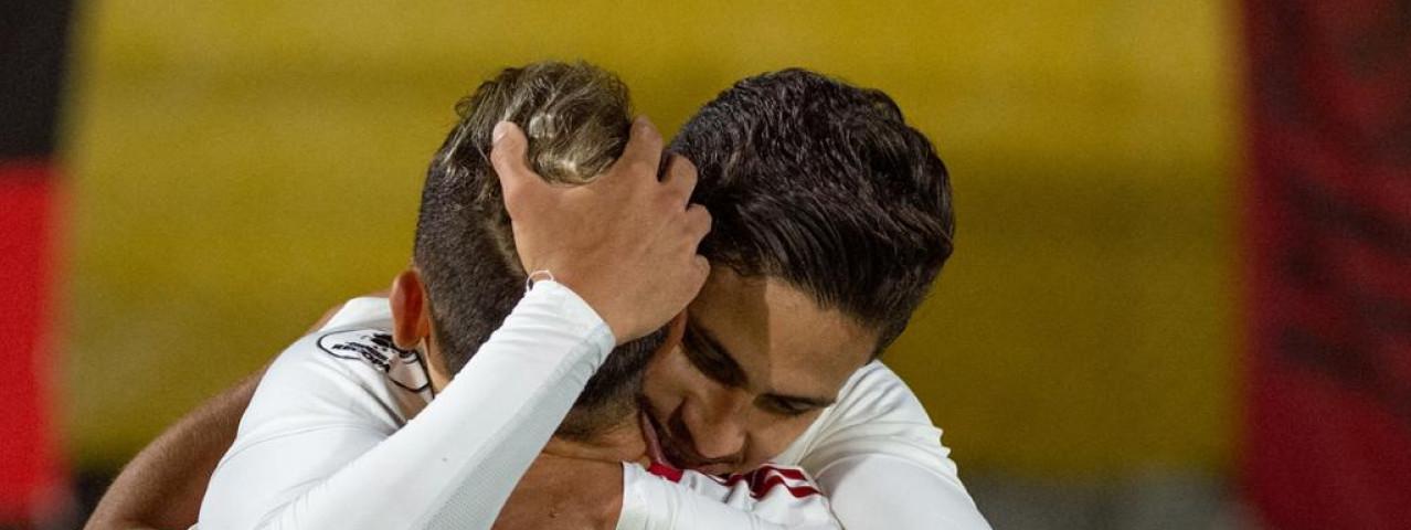 Flamengo fica no 2 a 2 com o Del Valle no primeiro jogo da final
