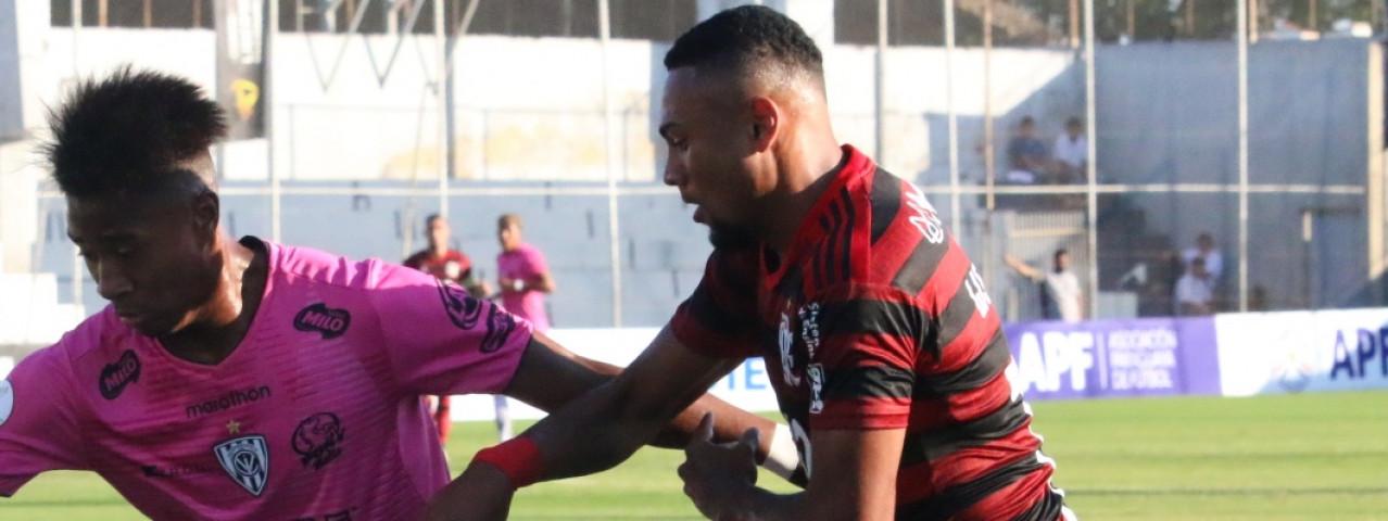 Flamengo perde para o Del Valle nos pênaltis e vai disputar o terceiro lugar