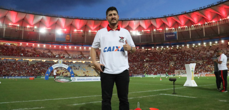 Sócio-torcedor veio pro Rio com tudo pago