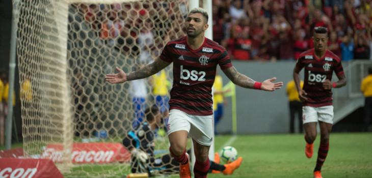 Brasileirão 2019 - CSA 0x2 Fla