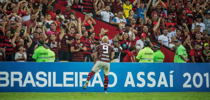 Brasileirão 2019 - Fla 1x0 Santos
