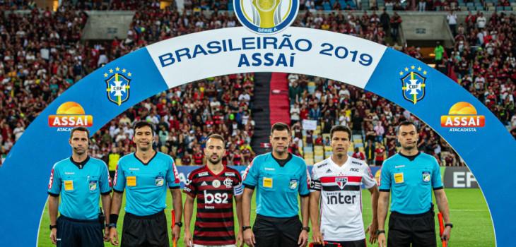 Brasileirão 2019 - Fla 0x0 São Paulo