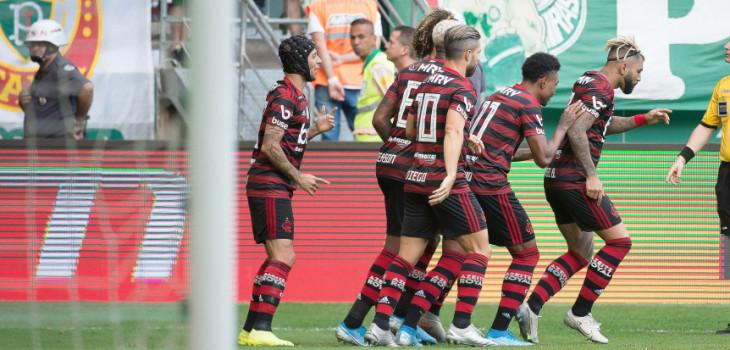 Brasileirão 2019 - Palmeiras 1x3 Fla