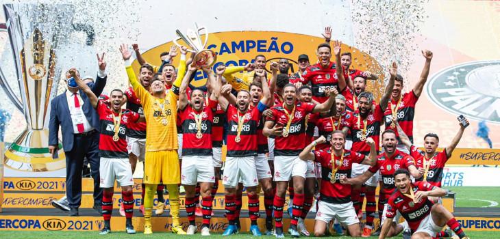 Supercopa do Brasil 2021 - Fla 2x2 Palmeiras (6x5)