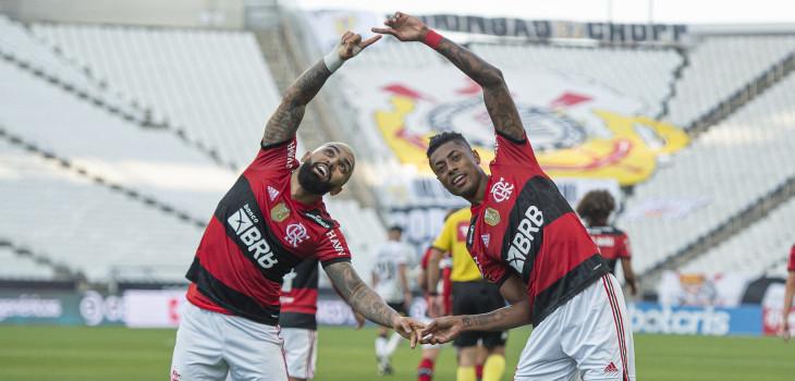Brasileirão 2021 - Corinthians 1x3 Fla