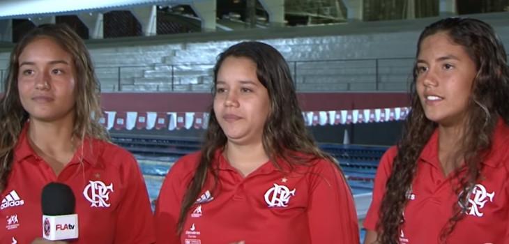 As irmãs atletas do Flamengo