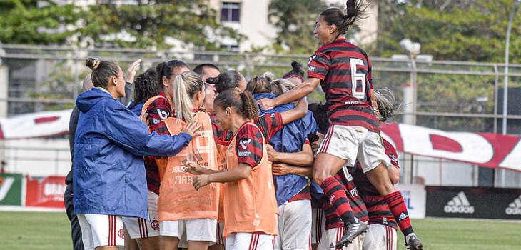 Bastidores Brasileirão Feminino 2019 - Fla 2 x 0 Inter