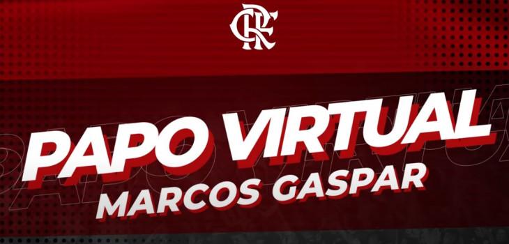 Papo Virtual com Marcos Gaspar
