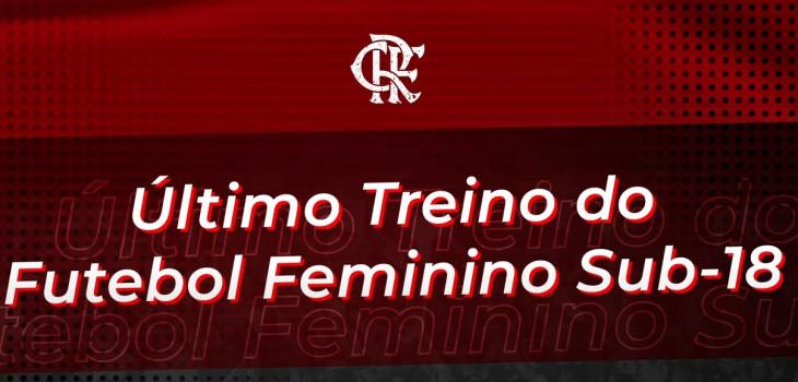 Treino do Futebol Feminino Sub-18