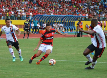 Atlético-GO 1x3 Flamengo Amistoso - 07/04/2018