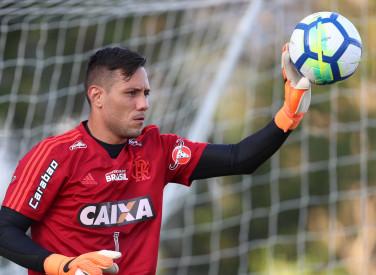 Treino do Flamengo - 09/04/2018