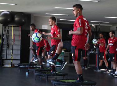 Treino do Flamengo (Tarde) - 10/04