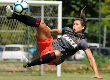 Treino do Futebol Feminino - 10/04/2018