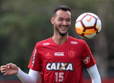 Treino do Flamengo - 16/04