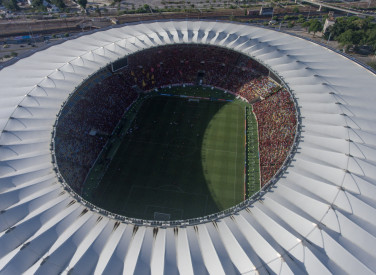 Drone - Treino aberto no Maracanã