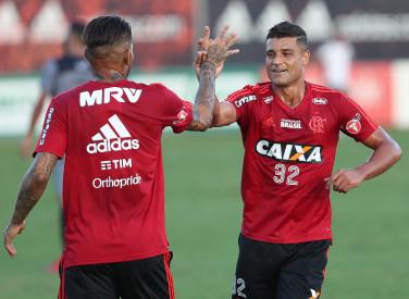 Jogo-treino Flamengo x Tigres - 19/04/2018