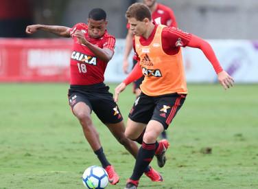 Treino do Flamengo - 28/05/2018